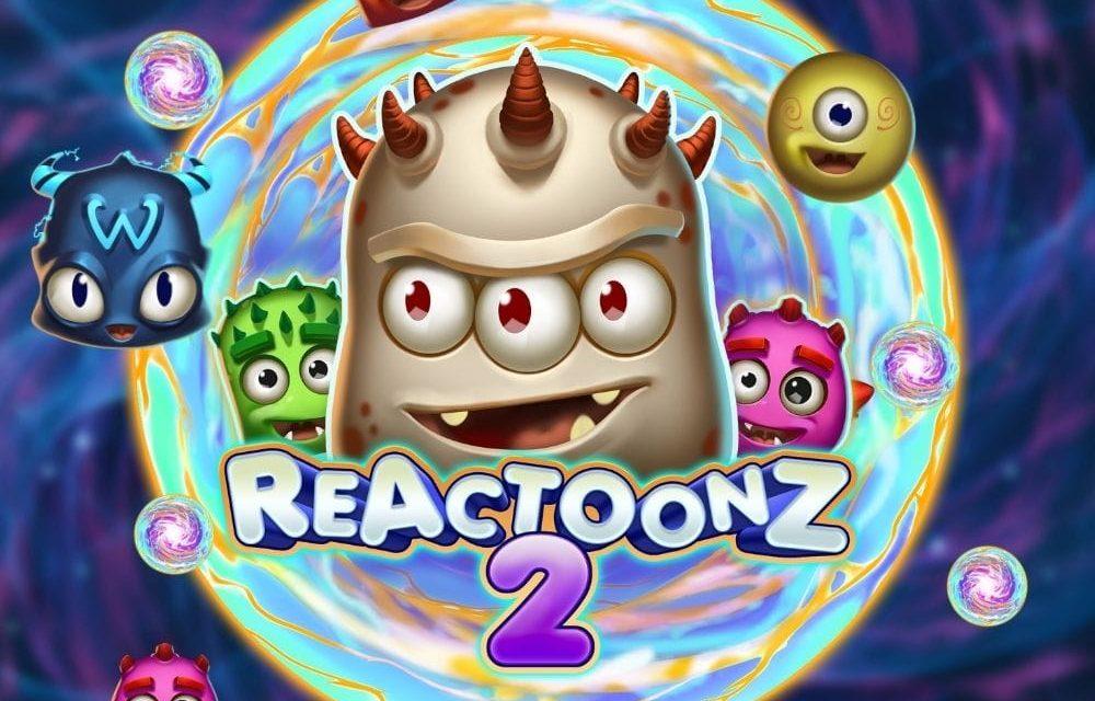 Reactoonz 2 från PlaynGo