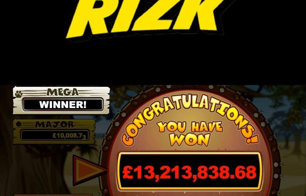 rizk casino mega moolah jackpot